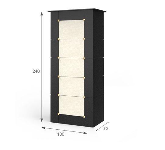 soliter-jednostranny-5buniek-60x40